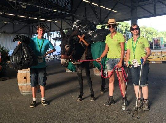 Propreté du site Championnats d'Europe de Horse-Ball 2015