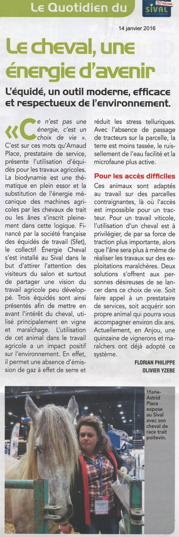 Journal du SIVAL - 14.01